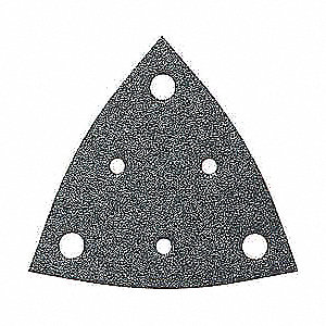 Triangle Sanding Sheet,80Grit,PK50