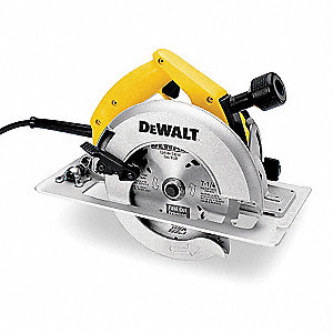 "7-1/4"" Circular Saw, 5800 No Load RPM, 15.0 Amps, Blade Side: Right, 120VAC"