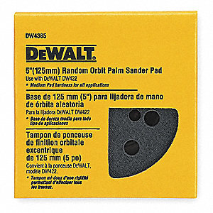 Hook-and-Loop Dsc BU Pad,8 Hole,5D