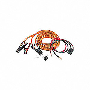 30 ft. Plug-In, Standard Jaw Jump Start Kit, Orange