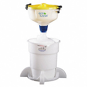 8 In Funnel,2000 mL,4 L Container,Base