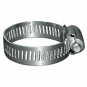 PVC Discharge Hose and Clamp