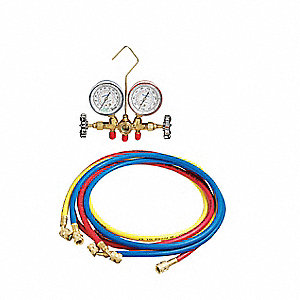 Mechanical Manifold Gauge Set,2-Valve