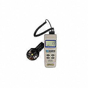 Data Logging Anemometer,80 to 5910 fpm
