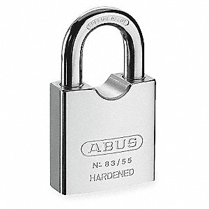 "Keyed Padlock,Different,2-1/8""W"