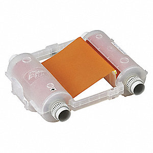 Ribbon Cartridge,Orange,200 ft. L