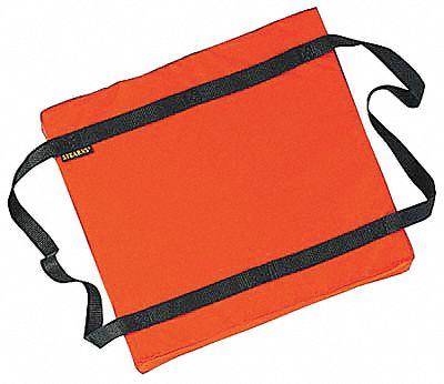 Floatation Cushion,  16-1/4 W x 2-3/4 in H,  200 Denier Nylon,  USCG Rating Type IV,  18 lb Buoyancy