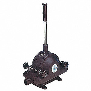 35 GPM Diaphragm Hand Pump, Self-Priming Up to 17.5 Ft.