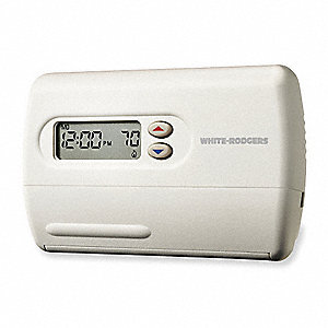 Low Voltage Thermostat, Stages Cool 1, Stages Heat 2