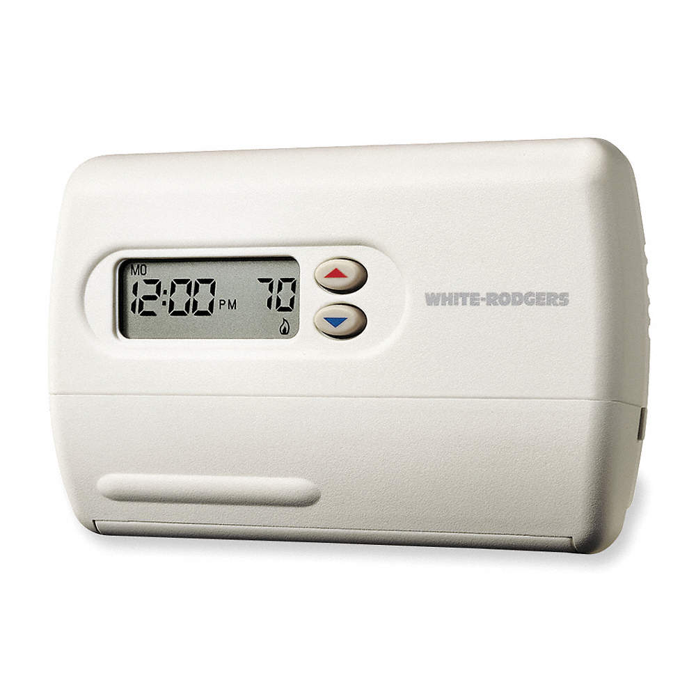 WHITE-RODGERS Low Voltage Thermostat, Stages Cool 2, Stages