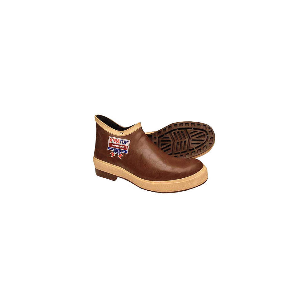 Rubber Boot,Men/'s,11,Ankle,Brown,PR 22170G//11