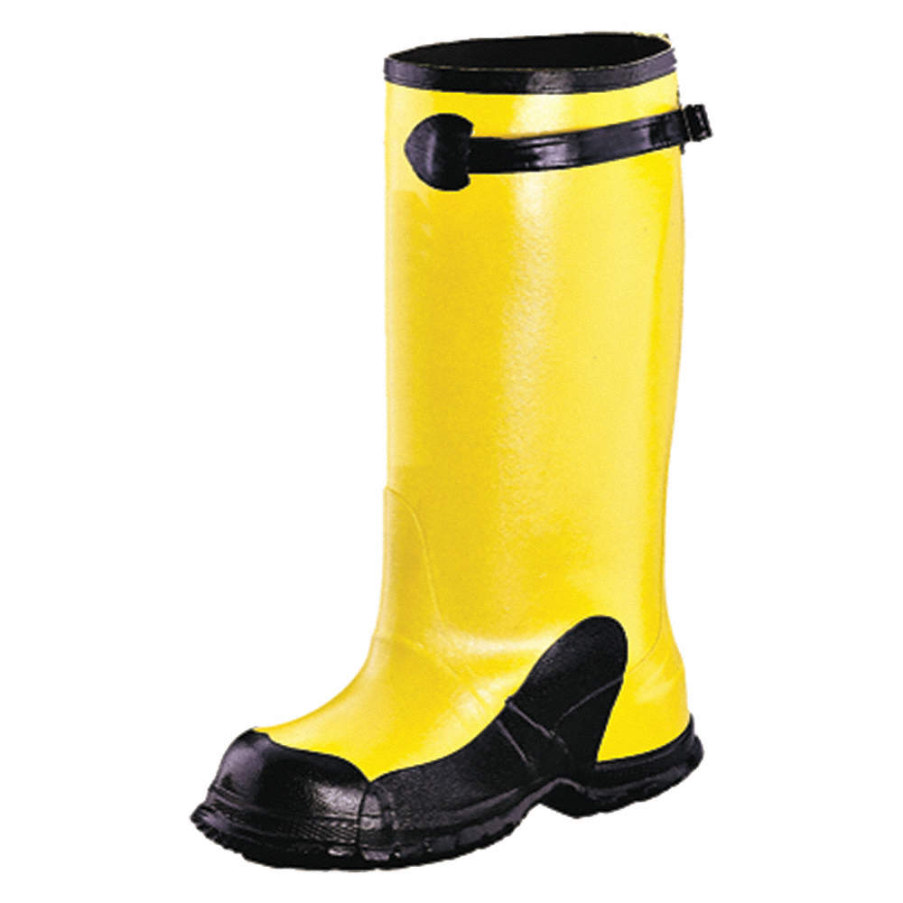 HONEYWELL SERVUS Yellow/Black Dielectric Overboots, Size: 11, 17 ...