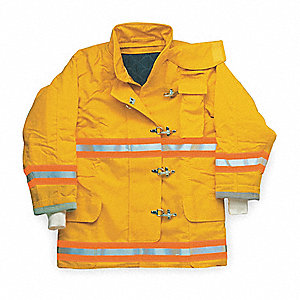 Turnout Coat,Yellow,L,Nomex IIIA