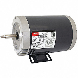 1-1/2 HP Jet Pump Motor, 3-Phase, 3450 Nameplate RPM, 208-230/460 Voltage, 56J Frame