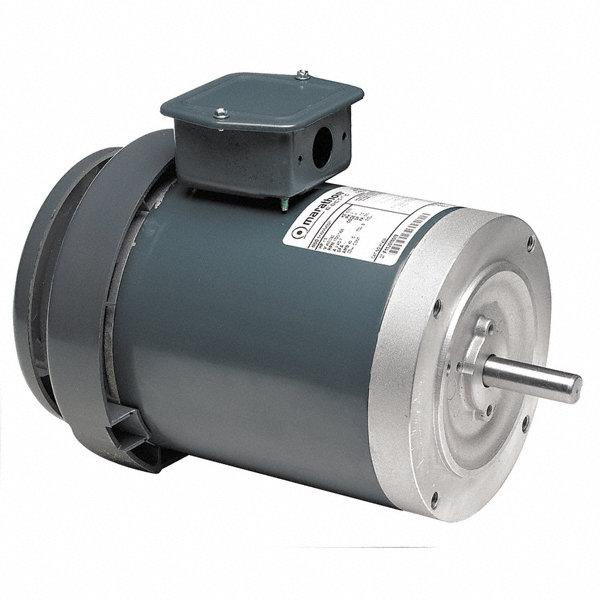 Marathon motors 3 hp general purpose motor 3 phase 3450 for Marathon electric motor replacement parts