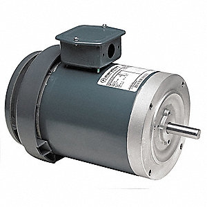 1/2 HP General Purpose Motor,3-Phase,1725 Nameplate RPM,Voltage 208-230/460,Frame 56C