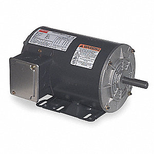 1-1/2 HP General Purpose Motor,3-Phase,1725 Nameplate RPM,Voltage 208-230/460,Frame 56H