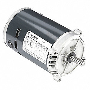 1 HP General Purpose Motor,3-Phase,3450 Nameplate RPM,Voltage 230/460,Frame 56C