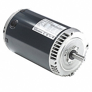 3 HP General Purpose Motor,3-Phase,3450 Nameplate RPM,Voltage 230/460,Frame 56C