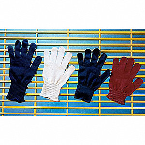 Utility Glove Liner,Blue,Synthetic,PK12