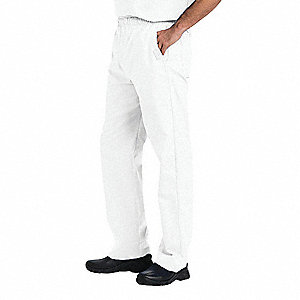 Scrub Cargo Pants,S,White,Mens