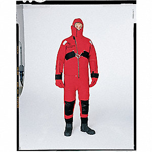 Rescue Suit,Ice,Red/Orange