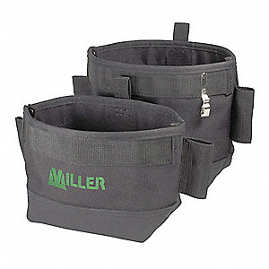 Nail And Tool Pouch, Black, Nylon