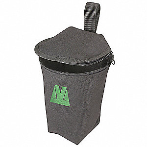 POUCH ZIPPERED CYLINDRICAL