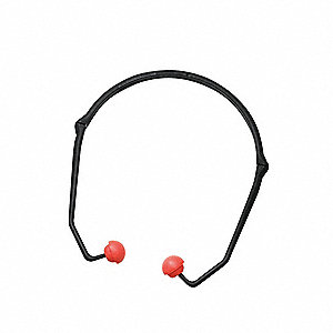 21dB Hearing Band with Pod, Foam Plugs, Orange