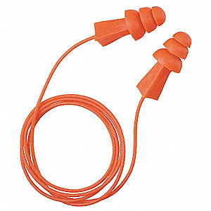 Ear Plugs,27dB,Corded,Univ,PK100