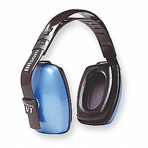 25dB Multi-Position Ear Muffs, Blue
