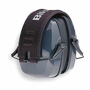 Black Ear Muff, Noise Reduction Rating NRR: 27dB, Dielectric: No