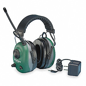 Electronic Ear Muff,22dB,Over-the-Head