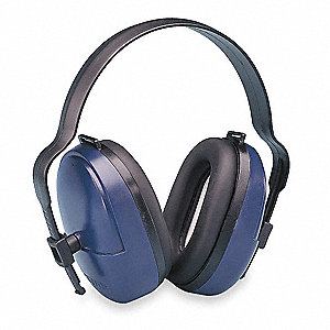 25dB Over-the-Head Ear Muffs, Black
