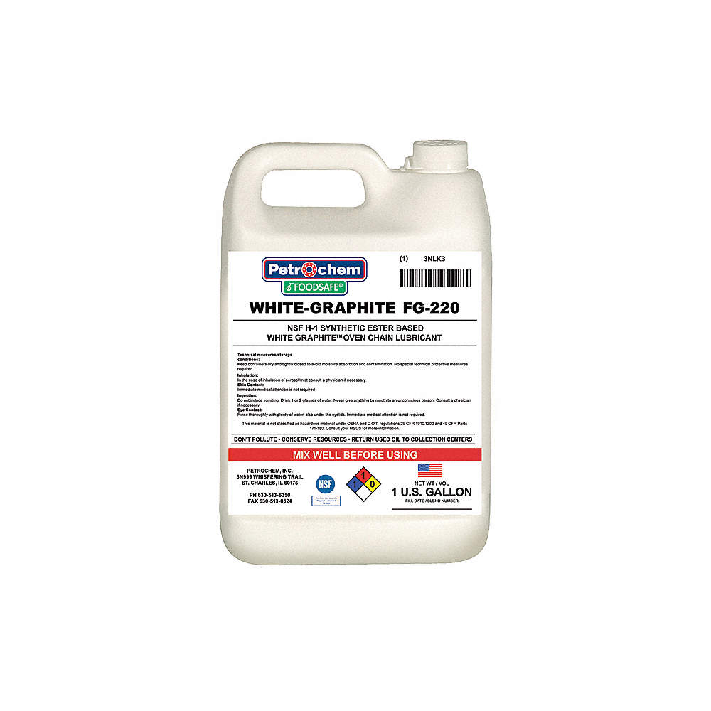PETROCHEM Chain, Cable, Wire Lubricant, 1 gal. Jug, Synthetic Oil ...