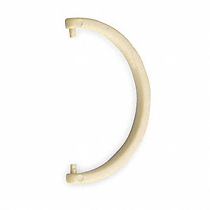 HDPE Cartridge Tube Hanging Hook, Beige&#x3b; For Use With 3NLL7 Protection Tube