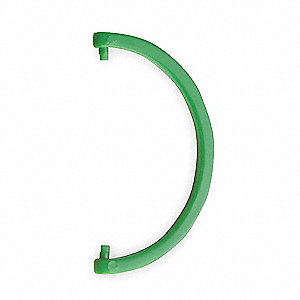 Cartridge Tube Hang Hook,Mid Green,PK6