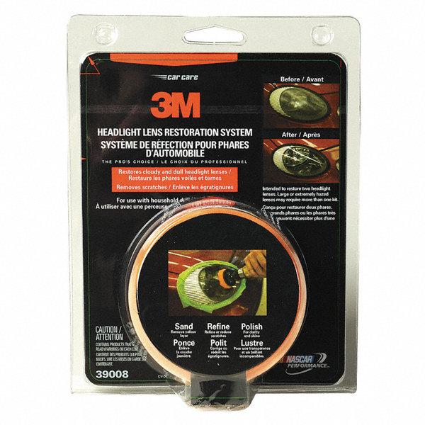 3m headlight lens restoration kit retail 3nlr9 39008 grainger. Black Bedroom Furniture Sets. Home Design Ideas