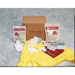 Biohazard Spill Kit, 1 EA