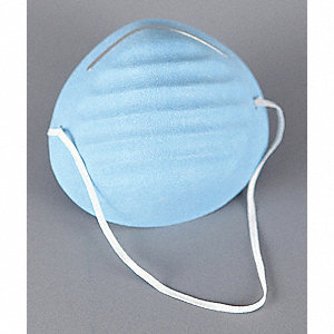 Biosafety Mask,Universal,Blue,PK50