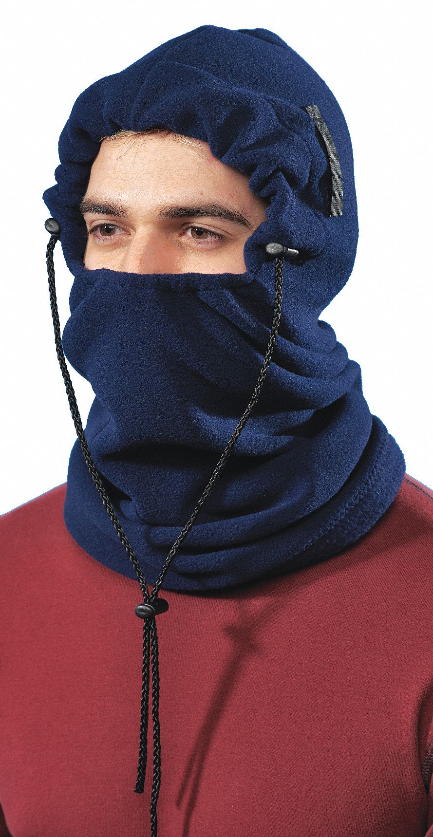 Winter Liner,  Universal,  Drawstring Adjustment Type,  Blue,  Covers Ears, Face, Head, Neck