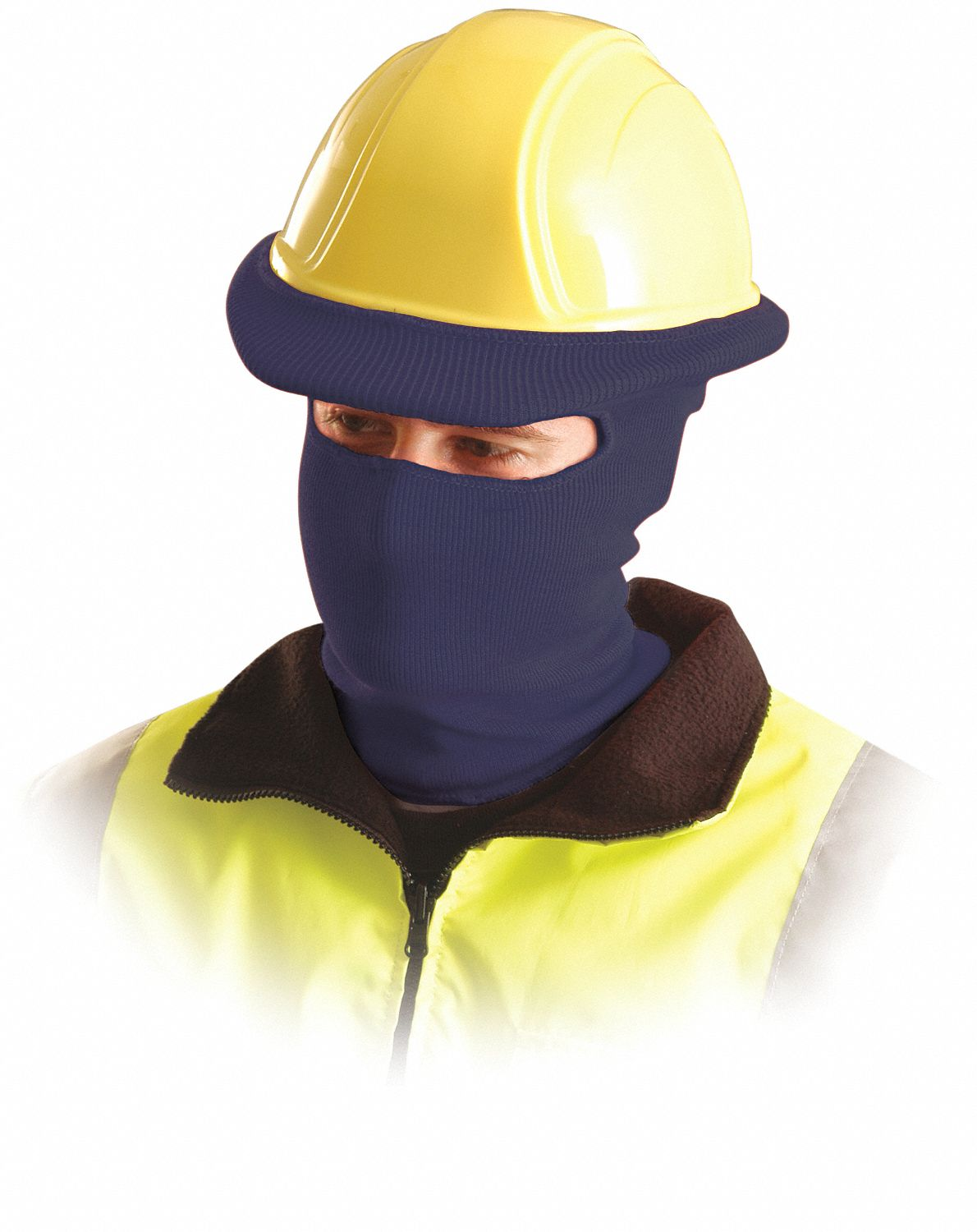 Hard Hat Liner,  Universal,  Blue,  Covers Ears, Face, Neck,  Tube