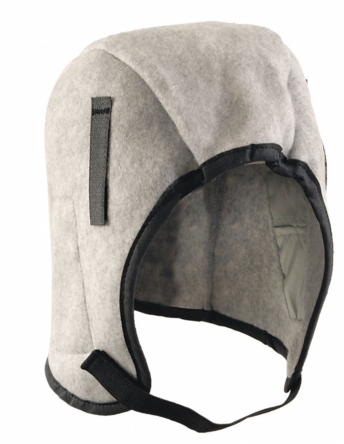 Hard Hat Liner,  Universal,  Hook-and-Loop Adjustment Type,  Gray,  Covers Ears, Head