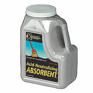 Chemical Neutralizer,Acids,6 qt.