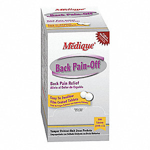 Back Pain-Off(R) Tablet&#x3b; PK500