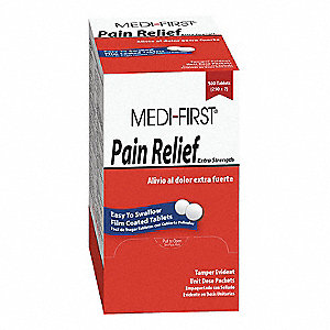 Pain Reliever Tablet&#x3b; PK500