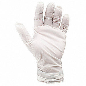 Cleanroom Gloves,Nitrile,Size L,PK100