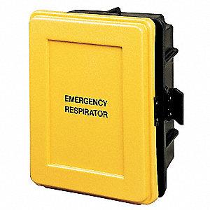 Respirator Wall CaseBlack/Yellow  sc 1 st  Grainger & Respiratory Equipment Storage - Respiratory - Grainger Industrial Supply