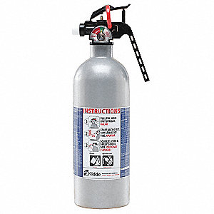 Dry Chemical Fire Extinguisher with 1.5 lb. Capacity and 8 to 12 sec. Discharge Time