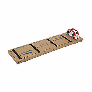Disposable Backboard,72 In. L,PK5